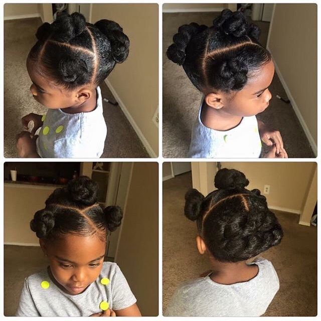 Natural Kids Cute Little Hairstyles For Girls Pinterest
