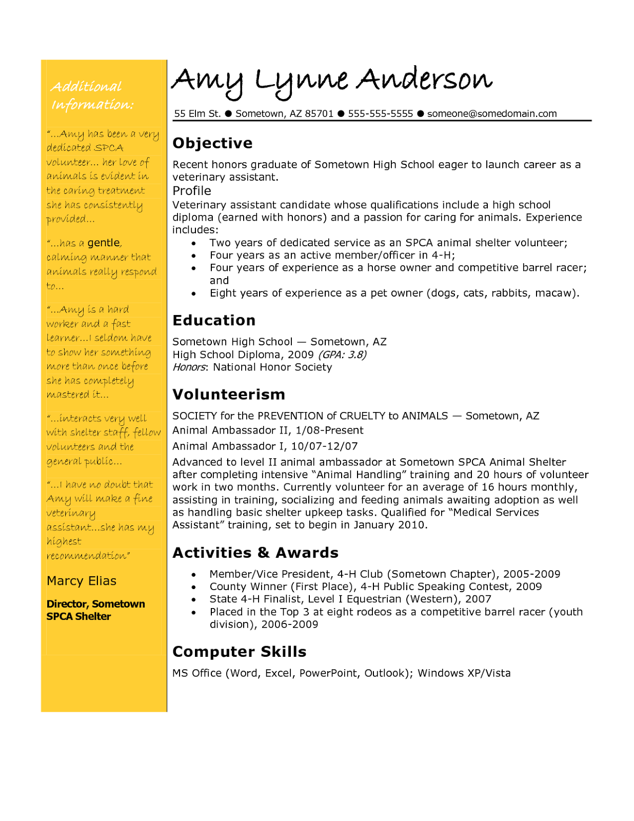 How To Write A Resume Objective For A Teaching Position Download Resume Objective Examples For Teacher In Word