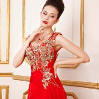 Trends Red and Gold Bridesmaid Dresses - http ...