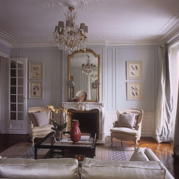 French Paris Apartment Interiors