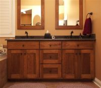 Mission Bathroom Cabinets | Shaker Style Bathroom Vanities ...