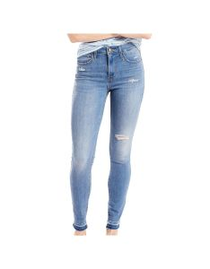 Women   levi sa modern fit high rise skinny jeans size us  med blue also rh pinterest