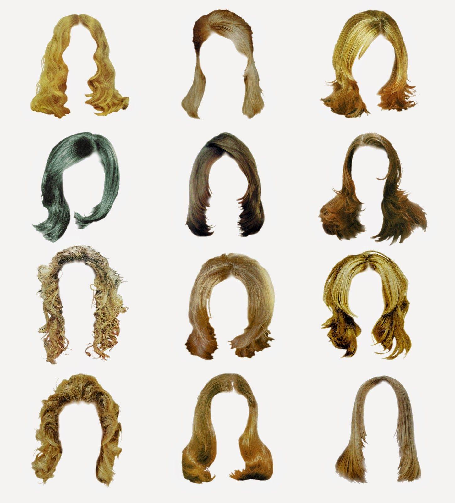 12 Women Hair Style Psd In File Lucky Studio 4U Baderu