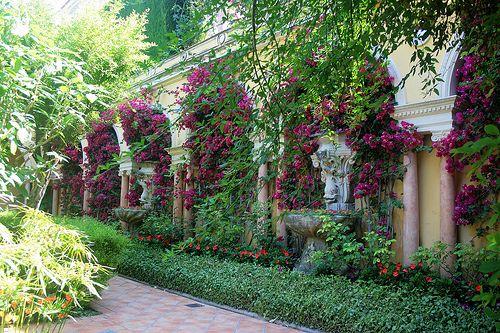 Fresh Spanish Garden Design Great Spanish Garden Design Ideas