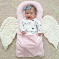 Pink angel pillow, baby girl, newborn photography, 4 ...
