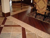 Floor Combination Wooden Floor Tile And Wood Floor ...