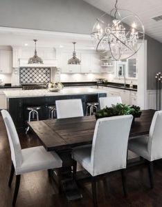 House also open concept kitchen living room floor plans google search rh pinterest