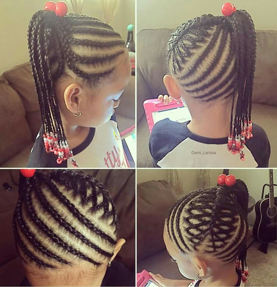 Little Girl Braided Hairstyle Super Cute Fashion & Style