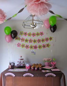 Monkey girl birthday party ideas also for the home pinterest rh