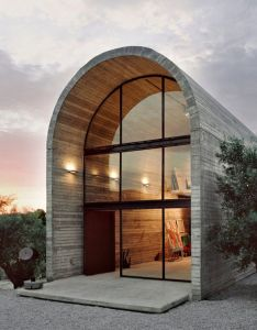 Art studio warehouse is designed and built by architecture design in boeotia greece the of painter also arch house  love pinterest studios rh es