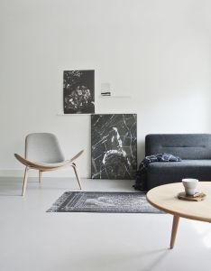 Find the hans wegner shell chair from carl hansen get look you want by designing your own hundreds of choices now at smart furniture also helle hohe raume fur das wohlfuhlwohnzimmer wohnidee living rh pinterest