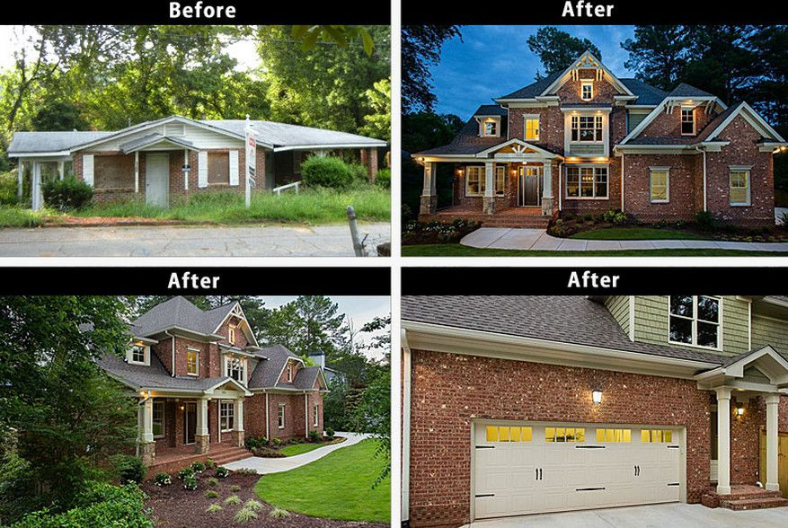 How To Remodel A Ranch Style House Ranch House Remodel And The