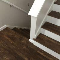 Luxury Vinyl Plank on stairs | Luxury Vinyl Plank & Vinyl ...