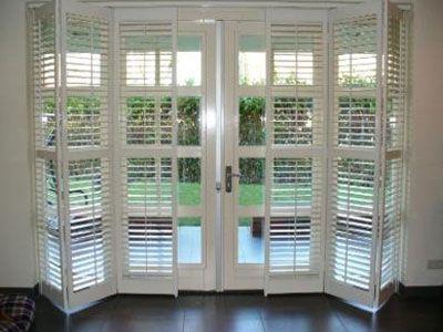 shutters voor schuifpui  keuken  Pinterest  Zoeken