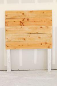 Easy DIY Wood Headboard Tutorial | Simple and modern # ...