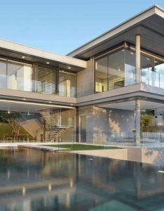 Villa amanzi  sumptuous house on the rocks also glasses glass fence rh pinterest