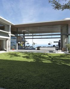 House design also luxury oceanfront escape with private courtyard plans rh za pinterest