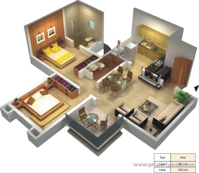 Home Design Ideas For The Elderly: Small Modern House Bloxburg One Story