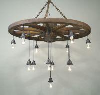 [wagon wheel chandelier light fixtures] - 28 images ...