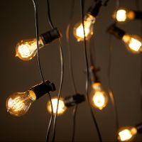 Vintage Edison Party Lighting string lights 240V (20m with ...