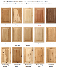 helpful wood species chart | Show & Tell: Display ...