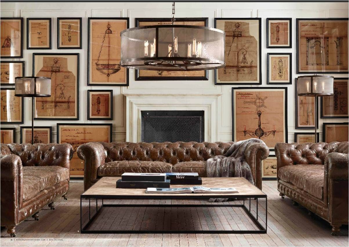 restoration hardware kensington sofa leather chesterfield london second hand quotrestoration quot slide 77 how now