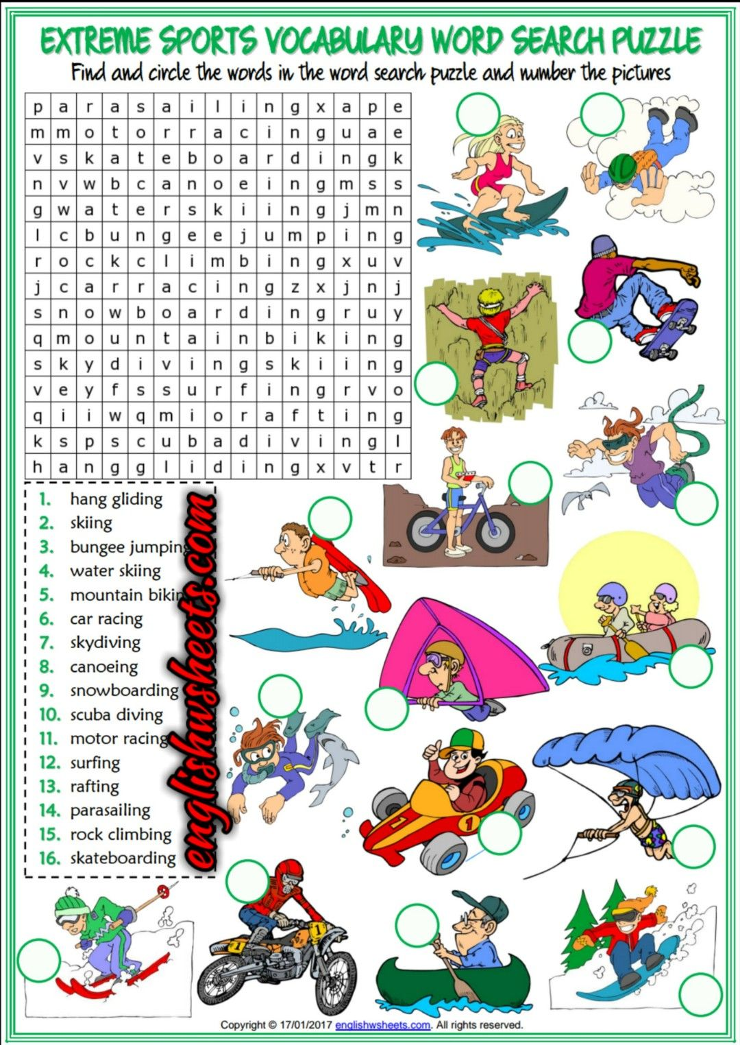 Sports Worksheets Pinterest Sport Worksheets For Kids In