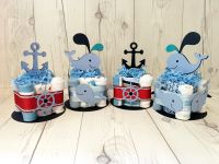 Nautical and whale themed baby shower centerpieces | Chic ...