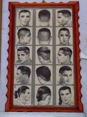 barber hairstyle chart instruct