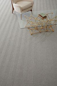 Timeless large scale herringbone carpet #totallycarpet ...