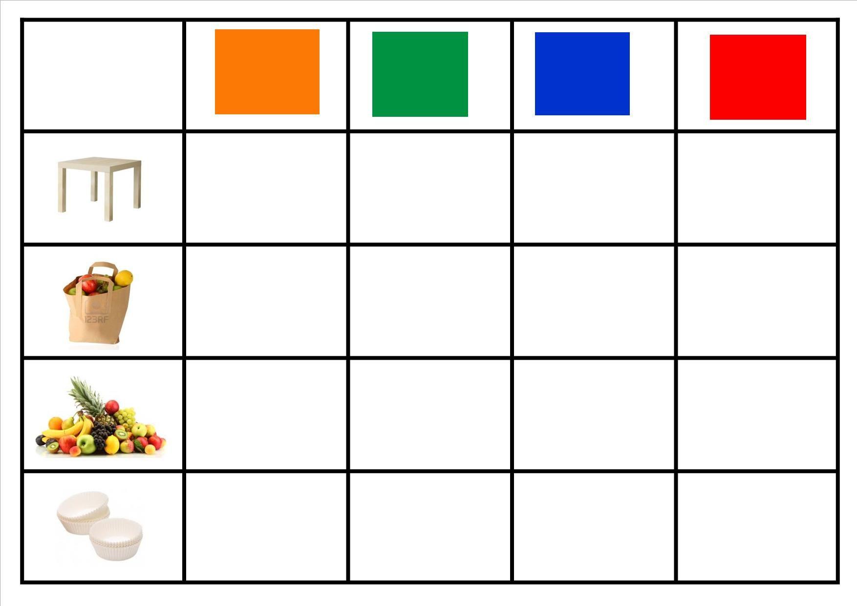 Matrix Reasoning Worksheet