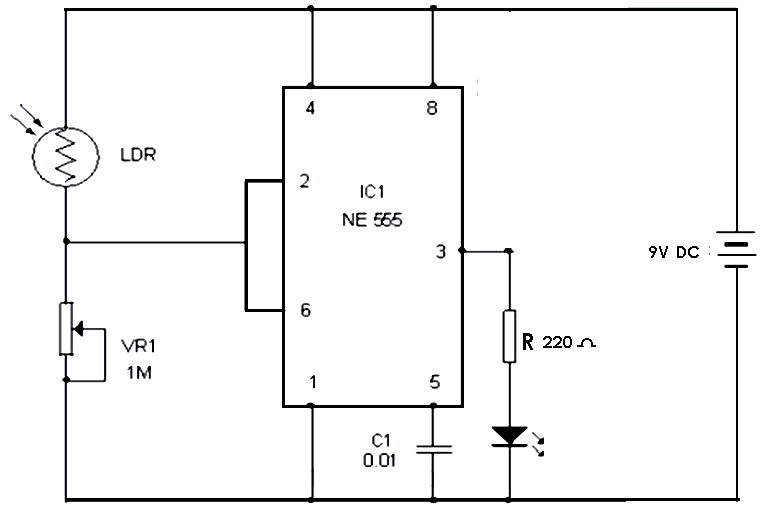 automatic curtain closer circuit