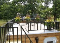 Tiny House 5th Wheel Roof Top Deck | Garage roof deck ...