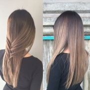 hottest balayage hair color