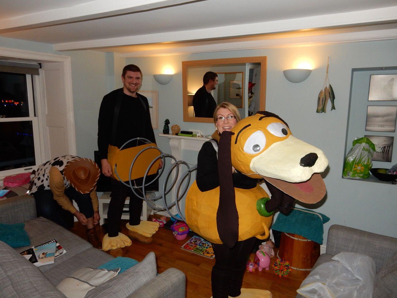 Slinky dog toy story costume fancy dress