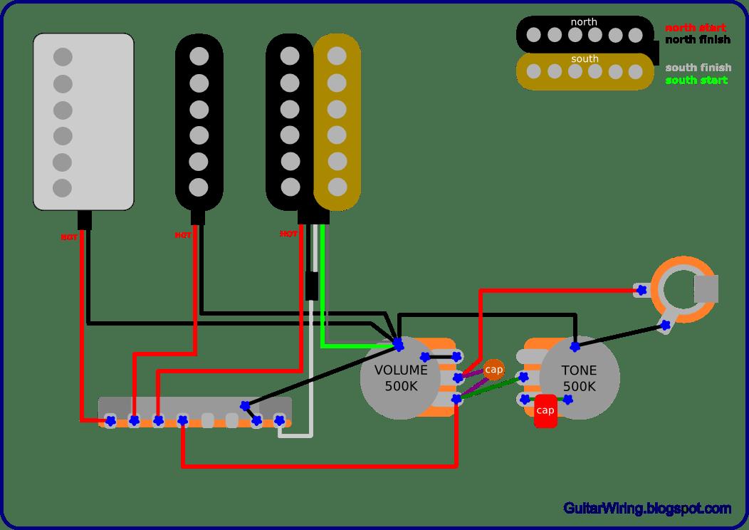 Guitar Wiring Humbucking Pickups Modifications Guitar Effects