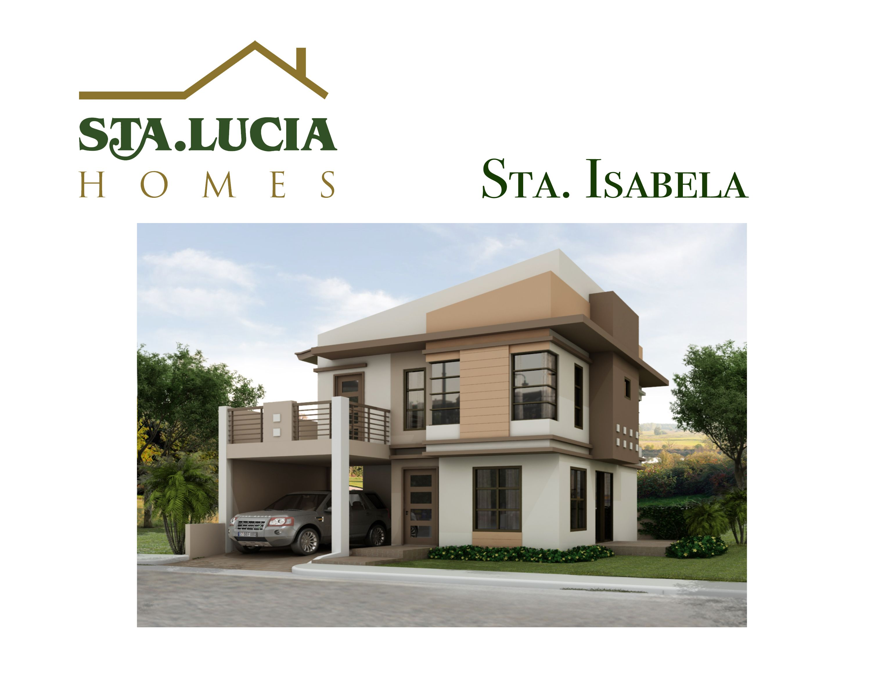Sta Lucia Homes' Modern Isabela Sta Lucia Land Inc