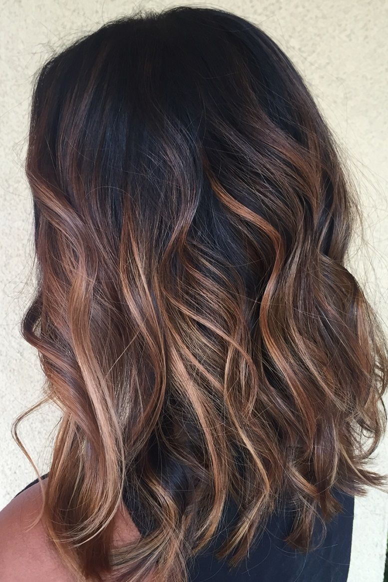 21 Balayage Dark Brown Hair Color Ideas For Changing Up Your Style 1