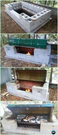 DIY Backyard Grill Projects & Instructions | BBQ grill ...