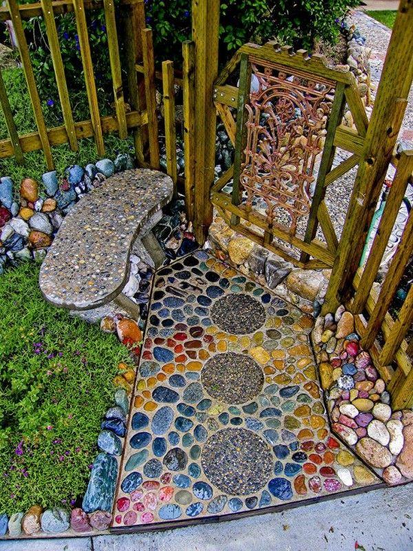 Mosaic Ideas For The Garden Giardini Beautiful E Sentieri Per