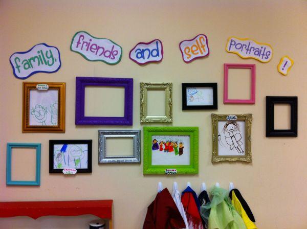 Cute Fun And Create Display Interchange Children' Artwork In Classroom