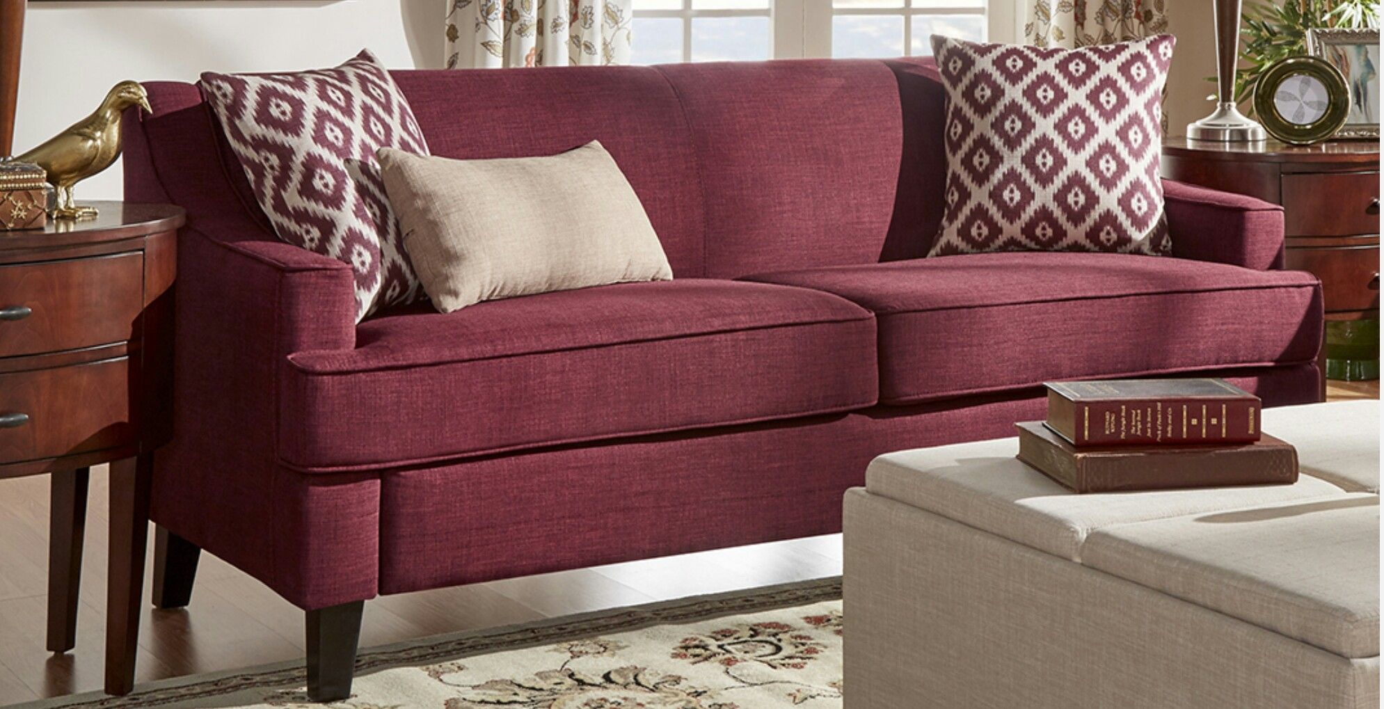 burgundy sofa and loveseat best leather deals uk apartment ideas pinterest
