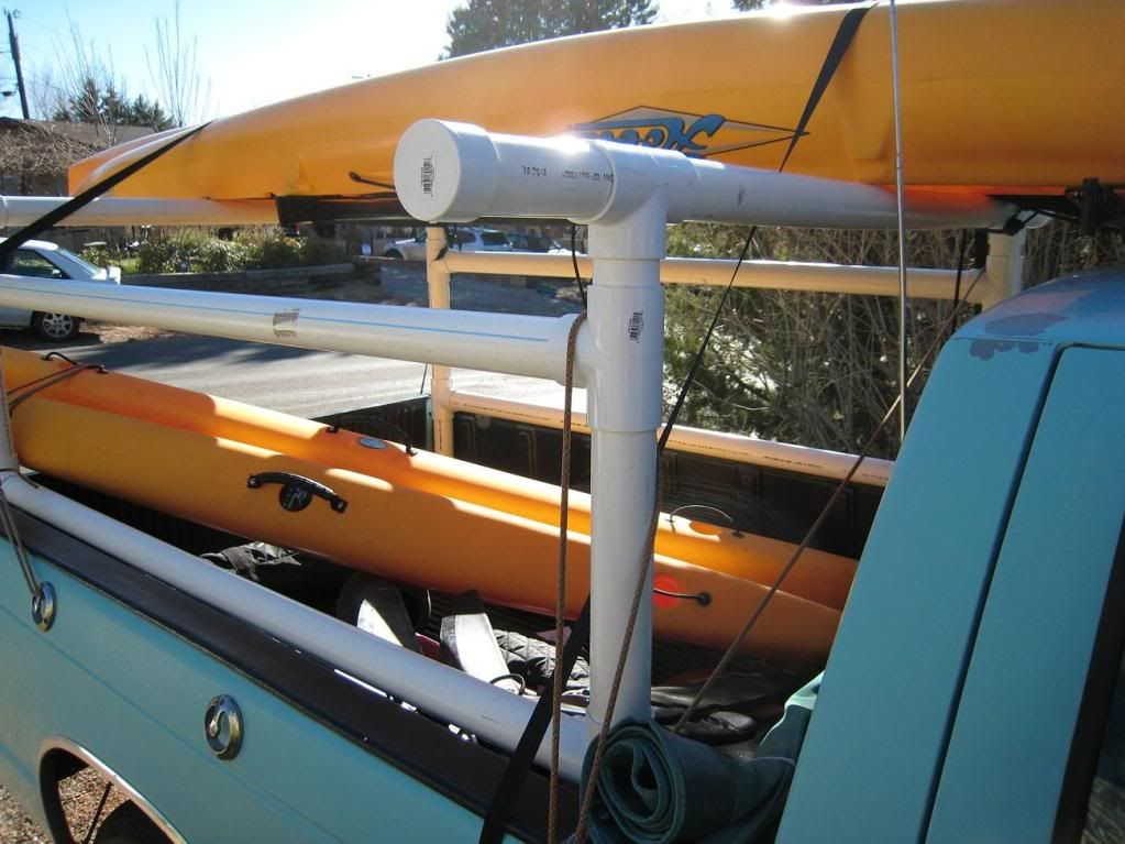Homemade Kayak Rack For Pickup Truck  Homemade Ftempo