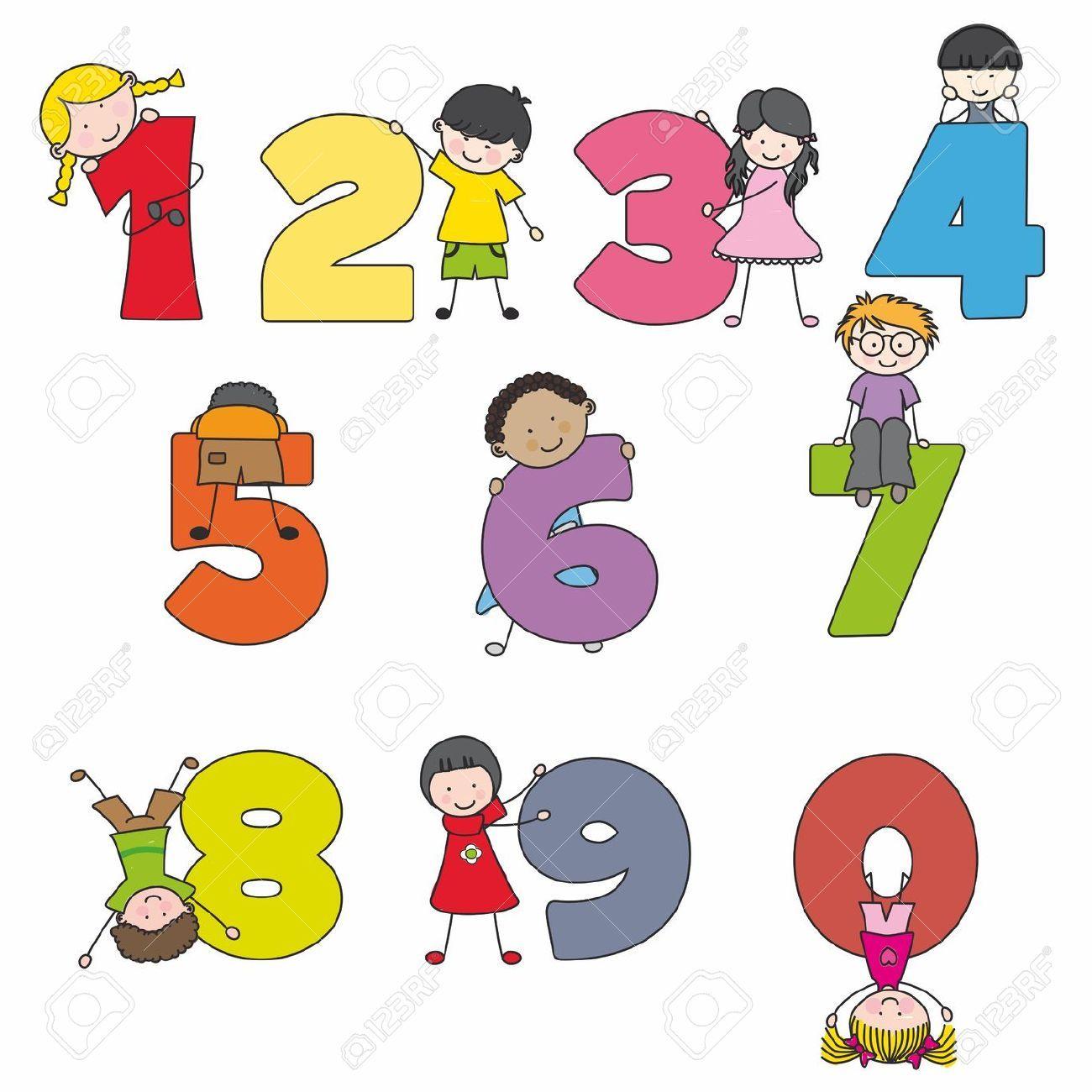 Siffror For Barn