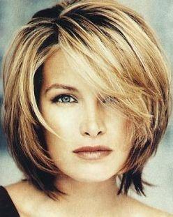 Medium Straight Hairstyles Short Length Hairstyles Straight