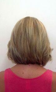 view of bob haircut