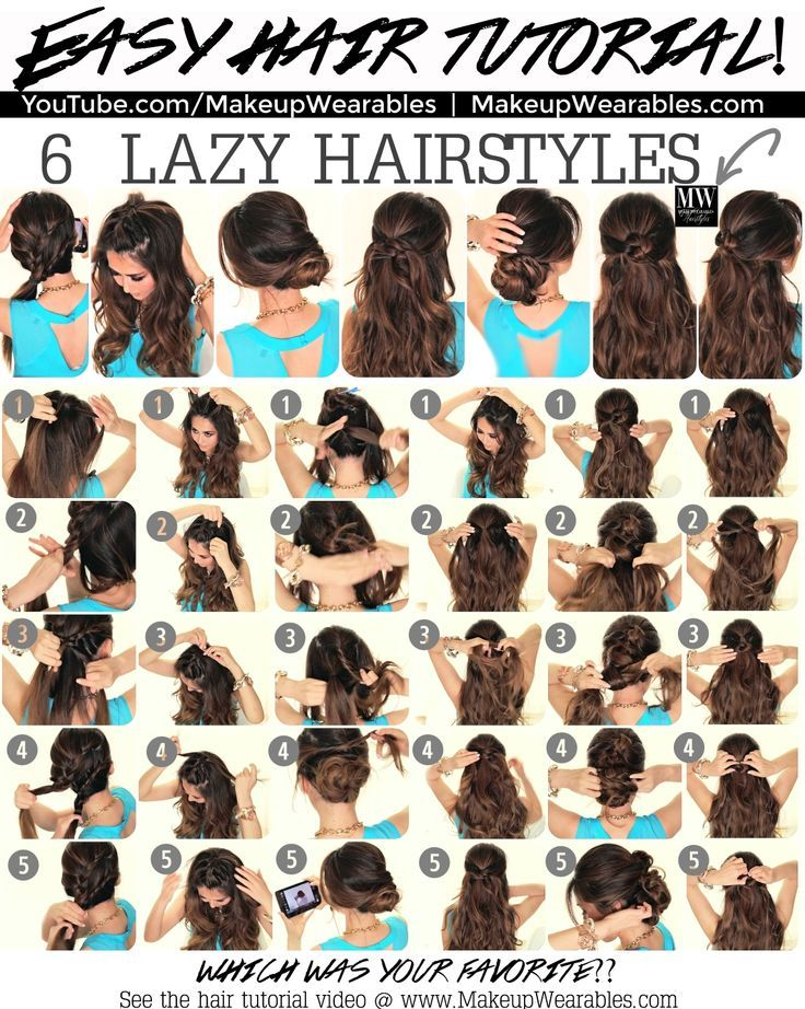 25 Best Ideas About Easy Hairstyle Video On Pinterest Casual