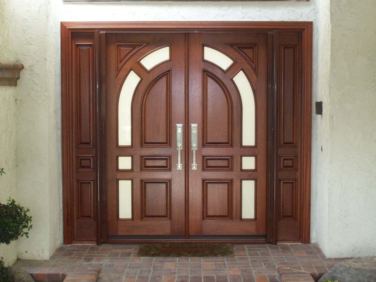 Double Front Entry Doors Exterior Houses Pinterest House