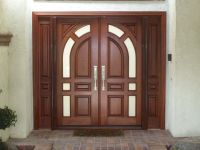 double front entry doors exterior | Houses | Pinterest ...