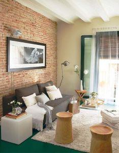 also un piso reformado en el raval interiors salons and living room ideas rh pinterest